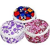 Kuber Industries Cotton 3 Piece Roti Cover Set - Multicolour