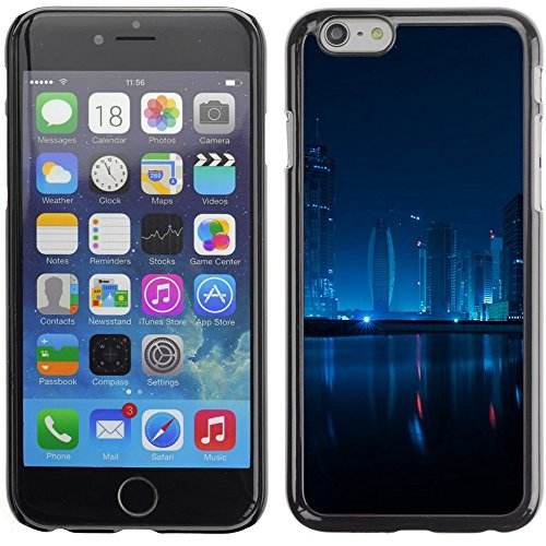 Graphic4You Dubai Postkarte Ansichtskarte Design Harte Hülle Case Tasche Schutzhülle für Apple iPhone 6 Plus / 6S Plus Design #1