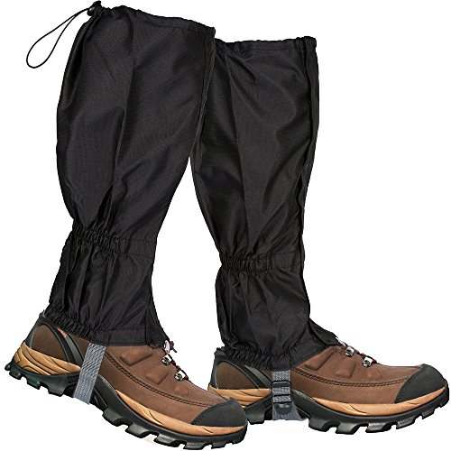 Lictin 1 Pair Hiking Gaiters Leg Gaiters Snow Gaiters Mountain Snow Legging Gaiters Lightweight Hiking Gaiters...