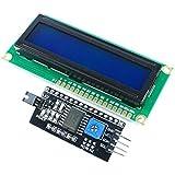 AZDelivery HD44780 1602 LCD Module Display Bundle mit I2C Schnittstelle Anzeigen 2X16 Zeichen