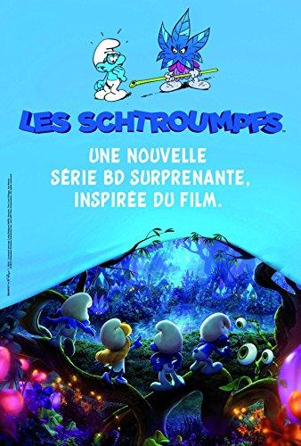 les-schtroumpfs-les-personnages-du-film-the-lost-village-tome-1-la-foret-interdite