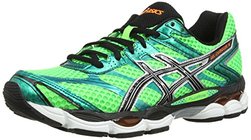 asics-gel-cumulus-16-mens-running-shoes-flash-green-black-flash-orange-415-eu-7-uk
