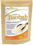 MySuperfoods Bio Baobab Pulver (500g) | Hochdosierte Bio Qualität mit Vitamin C | Perfekt für Smoothies & Shakes | Superfood aus Afrika | Stärkt das Immunsystem – Für mehr Energie & weniger Müdigkeit