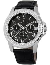 Carlo Monti Damen-Armbanduhr Analog Quarz Leder CM600-122