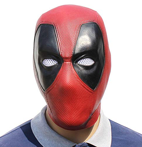 baoqsure Cosplay Dead Waiter Halloween Deadpool 2 Latex Mask Costume Party Entertainment Cool Play Prop