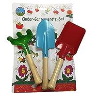 3pcs Gardener Tools Trowel Rake Shovel Home Gardening Children Kids Garden Kit