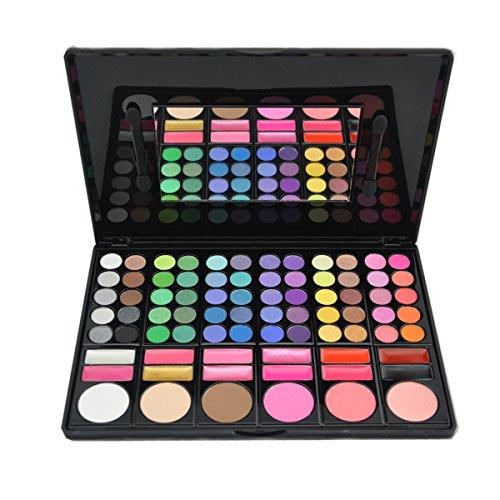 DISINO Paleta de Sombra de Ojos Colección Vivo Brillante Kit de Maquillaje Caja Profesional para Maquillaje Accesorio cosmético de Belleza...
