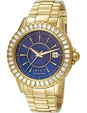 Esprit Collection Damen-Armbanduhr Eurybia Analog Quarz Edelstahl EL102082F06