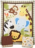 Lambs & Ivy Bedtime Originals Jungle Buddies Bedding Set (pack of 3 Pieces)