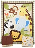 Best Bedtime Originals Bumpers - Lambs & Ivy Bedtime Originals Jungle Buddies Bedding Review