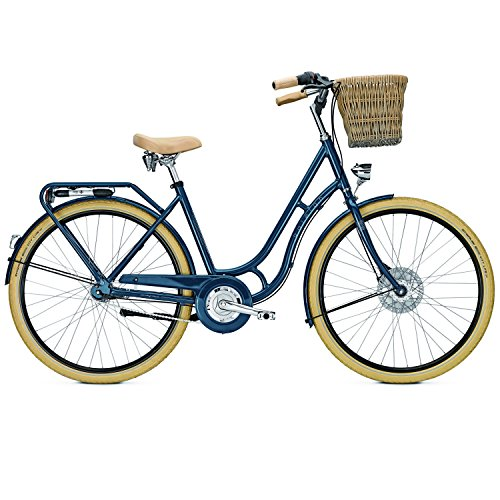 Raleigh Damen Brighton 7 Fahrrad, Horizonblue, 50