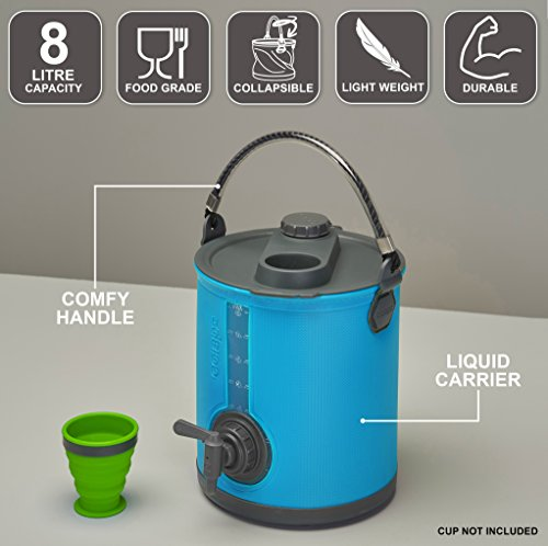 2in1 Collapsible Watering Can and Bucket 2