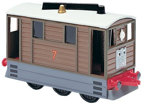 Thomas the Tank Engine Shining Time Station TOBY diecast train by - Engine Tank Thomas Ertl The