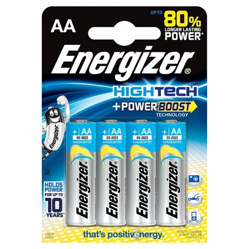 Energizer Alkaline AA/LR6 HighTech Batterien(4-er Blister)