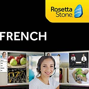 Rosetta Stone French, 12 Months Online Access (PC/Mac)