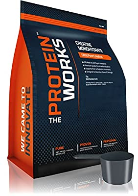 THE PROTEIN WORKS Creatine Monohydrate - 1 kg, Unflavoured by The Protein Works