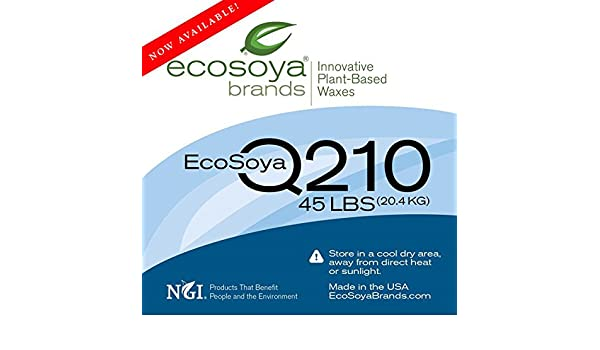 Massage Candle Soy Soya Wax 2kg EcoSoya Q210 for Container 20 WICKS