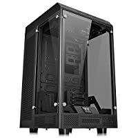 Thermaltake CA-1H1-00F1WN-00 Tower 900 E-ATX Case with Tempered Glass Sides - Black