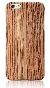 iPhone 6 Plus Case, PITAKA [Aramidcore Wood Series] Ultra Slim Shockproof Wood Case for ONLY iPhone 6 Plus (5. 5 Inch) - Zebra