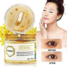 Máscara ocular, mascarilla colágena, mascarilla dorada osmanthus, mascarilla hidratante osmanthus dorada antienvejecimiento,