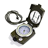 Compass Waterproof Shockproof Hiking Military Navigation Compass - Best Reviews Guide