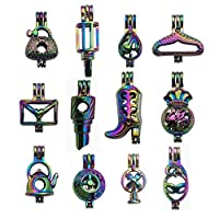 Rainbow Color Cage Pendant for Pearl Collection HM206~HM226