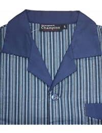 Nightwear Heaven - Ensemble de pyjama -  Homme Bleu Bleu -  Bleu - Noir foncé - Xx-large