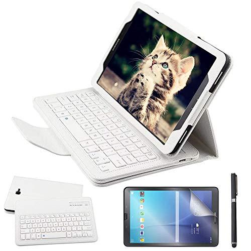 tastiera per tablet samsung 10.1 Custodia Galaxy Tab A 10.1 Bluetooth Tastiera con screen protector & stylus