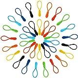 Reißverschluss Zieht Reißverschluss Verlängerung Nylon Reißverschluss Tab Ersatz, 35 Stück, 7 Farben