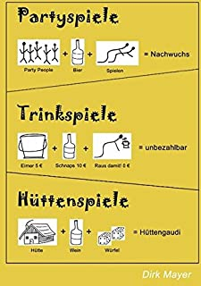 Trinkspiele Partyspiele Hüttenspiele (383707594X) | Amazon price tracker / tracking, Amazon price history charts, Amazon price watches, Amazon price drop alerts
