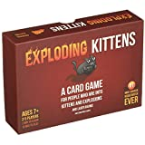 Amyove Interesting Exciting Cards Game Exploding Kitten Card Game Bear VS Babies Kittens Board Card Game Great Gift Red Cat