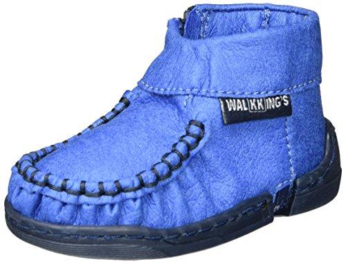 Walkkings Zip Around, Chaussures Bébé marche bébé garçon Blue (Blue Frosting)