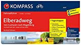 Elberadweg von Cuxhaven nach Magdeburg: Fahrradführer mit Stadtplänen und GPX-Daten zum Download. (KOMPASS-Fahrradführer, Band 6297)
