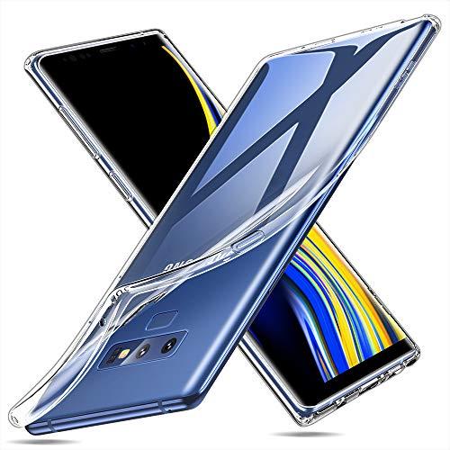 ESR Funda Samsung Note 9, Funda Transparente de TPU Ultraslim para Samsung Galaxy Note 9 (Lanzado en 2018)-Transparente
