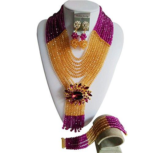 laanc-10rangs-6mm-cristal-violet-et-dor-champagne-meilleur-parures-dafricain-perles-mariage-colliers