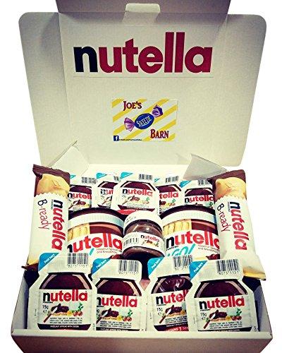 Nutella Gift Box - Delicious Nutella Chocolate - B Ready - Mini Jars -  Singles - Nutella & Go
