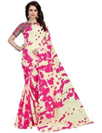 Navya Polly Silk Printed Sarees With Blouse Piece (nav391_Multi-Coloured_Free Size)