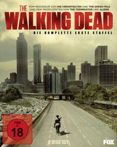 The Walking Dead - Die komplette erste Staffel (2 Discs + O-Card) [Blu-ray]