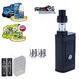 E-Zigarette Steamax produced by Smok Majesty Starterset   TC Komplettset   mit American Liquids - 00mg Rauchen ohne Nikotin