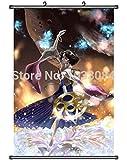 BWGFQC Ben -Alexander Final Fantasy X 10 Yuna Home Decor Poster Wall Scroll Game Art Anime Cosplay