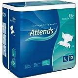 ATTENDS Slip Regular Plus 10 large 14 St