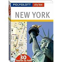 Polyglott city box New York - Box mit 30 Tourenkarten und Beiheft
