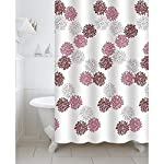 Care Instructions: Machine wash at 30°C. Gentle cycle. Use mild detergent. Do not bleach. Do not tumble dry. Do not dry-clean. Iron at low heat Crafted of quality polyester, this fabric curtain is a perfect fit for your shower or bathtub needs. Adds ...
