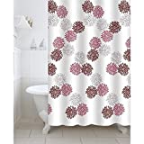 #6: Freelance Value for Money Polyester Shower Curtain with 12 hooks, Waterproof, 180 (Width) x 200 (Height) cm