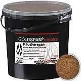 GOLDSPAN smoke B 5/10 Räucherspäne Räuchern Buche Räucherholz Smoking 5kg inkl. Abfüllschaufel