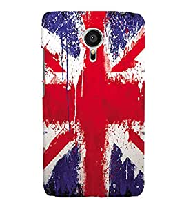 Fuson Plastic Printed Colorful Pattern Back Case Cover for Meizu MX5-D9825