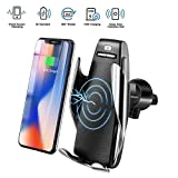 iBubbleTM - S5 Wireless Charging Car Phone Mount with 10W Quick Charger, Smart