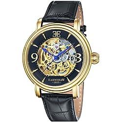Thomas Earnshaw Longcase - Reloj para hombre, color negro/negro