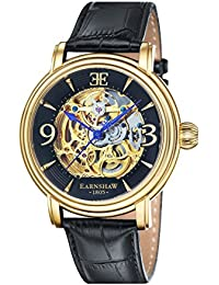 Thomas Earnshaw Longcase - Reloj para hombre, color negro / negro