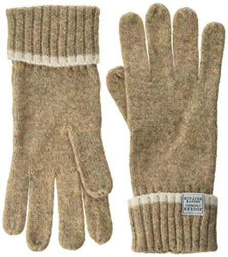 Tom Joule Damen Handschuhe Huddle Gloves Beige (Oatmeal), Size (Herstellergröße: ONE)